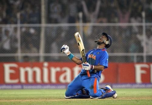 Yuvraj Singh was born to win India games of cricket