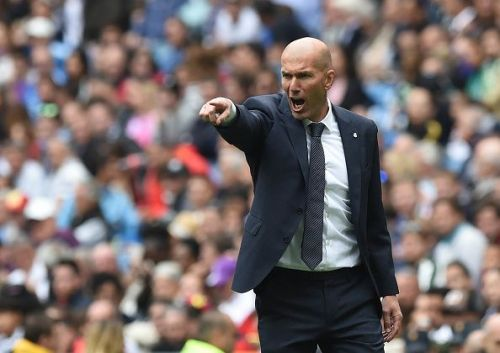 Zinedine Zidane's wish seems to have been granted