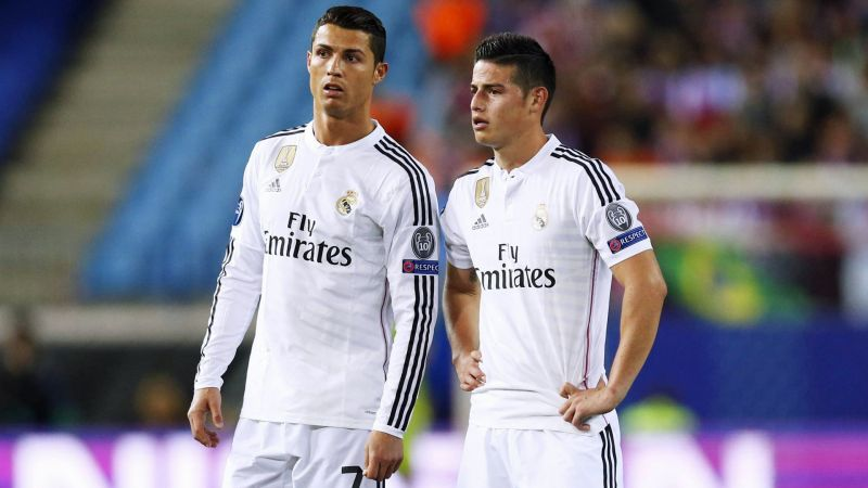 Cristiano Ronaldo wants to reunite with James Rodriguez at Juventus