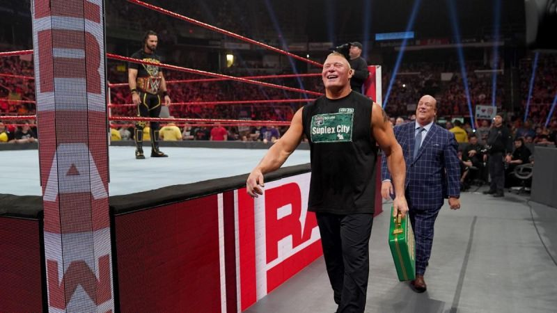 Will Lesnar exit without cashing in?