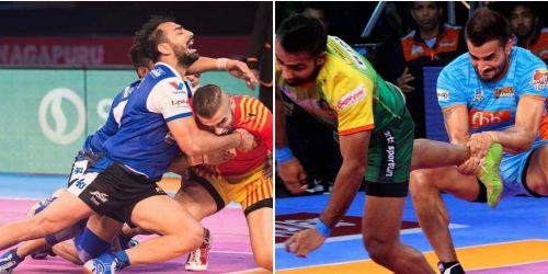 Mohit Chhillar and Ran Singh: The corner defense's bedrock for Tamil Thalaivas.
