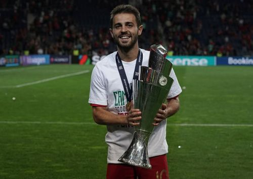 Bernardo Silva has finished his season on a high