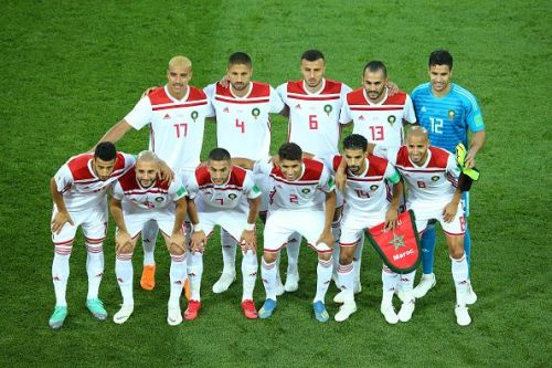 Morocco at the FIFA World Cup in Russia