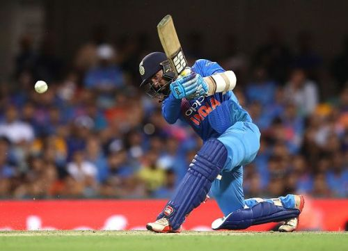 Dinesh Karthik at no.4 spot would provide better balance to the team