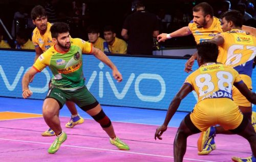 Vijay Malik played two seasons with Patna Pirates as the team's dependable all-rounder.
