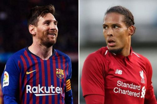 Messi and Van Dijk are the frontrunners for the 2019 Ballon d'Or