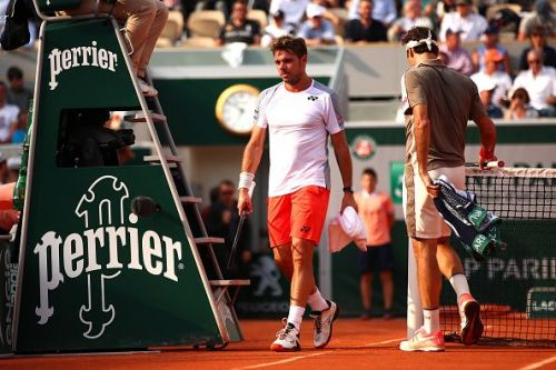 Federer used all his clay court experience in his win over his compatriot Stanislas Wawrinka in their French Open quarter-final showdown