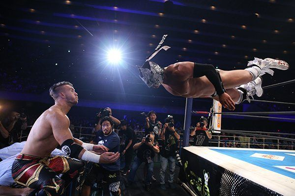 Will Ospreay vs Dragon Lee was insane!