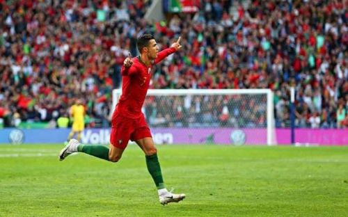 Ronaldo scored a sensational hat-trick against Switzerland in the semi final of the UEFA Nations League.