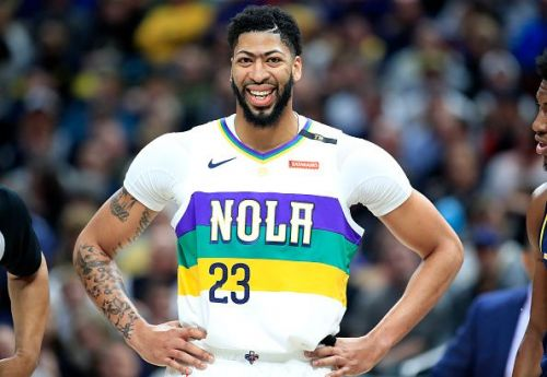 Anthony Davis is heading to Los Angeles with the Lakers