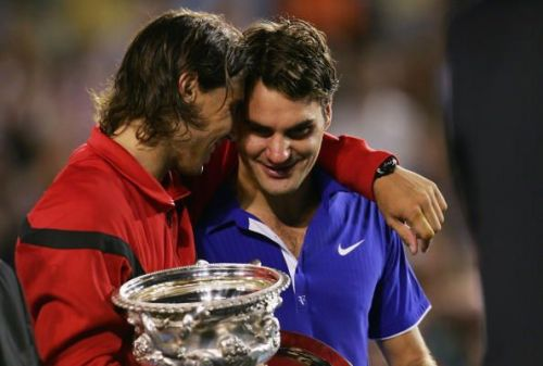 Nadal and Federer would go down as two of the greatest tennis players ever