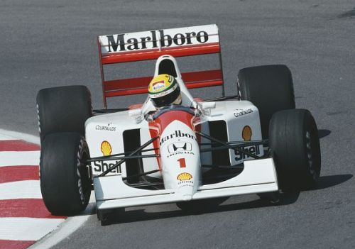 Ayrton Senna won twice in Canada for McLaren.