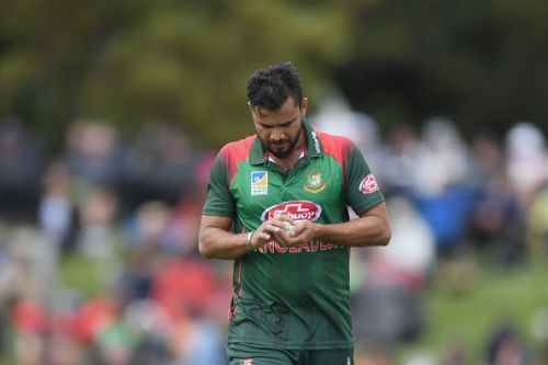 Mashrafe Mortaza will be banked on to lead the pace department