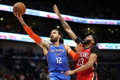 Steven Adams looks to be heading for an exit from the Thunder