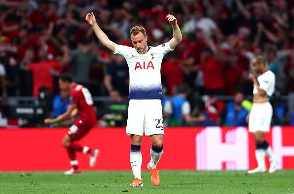 Christian Eriksen is in high demand ever since he expressed his desire to move out of Tottenham Hotspur