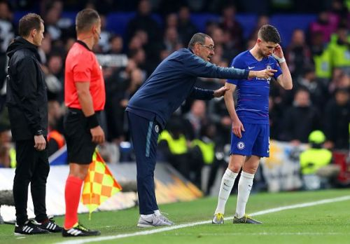 The Sarri-Jorginho partnership could be on the brink of breaking up