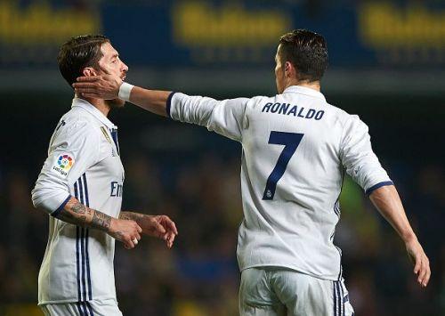 Cristiano Ronaldo has not asked Ramos to join Juventus