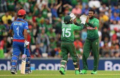 बांग्लादेश ने अफगानिस्तान को 62 रन से हराया