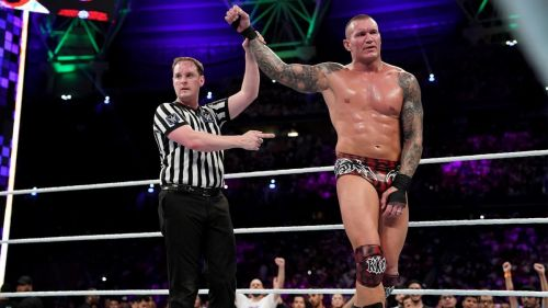 Randy Orton and Triple H renewed their rivalry at WWE Super ShowDown 2019