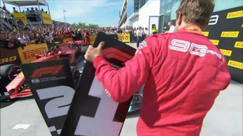 Vettel was furious at the penalty dished out to him