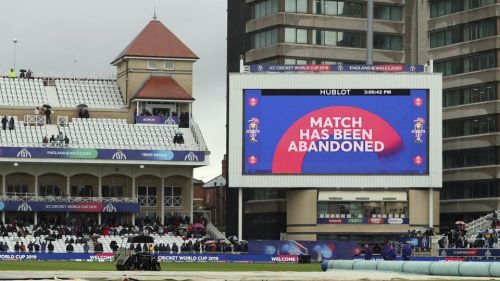 The Cricket World Cup match between India and New Zealand at Trent Bridge in Nottingham