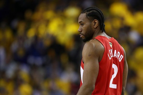 Kawhi Leonard could stay with the Toronto Raptors next season
