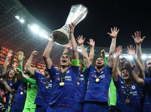 Chelsea recently lifted the UEFA Europa League trophy by defeating Arsenal in the final