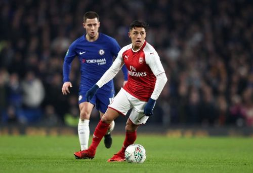 Chelsea v Arsenal - Carabao Cup Semi-Final: First Leg