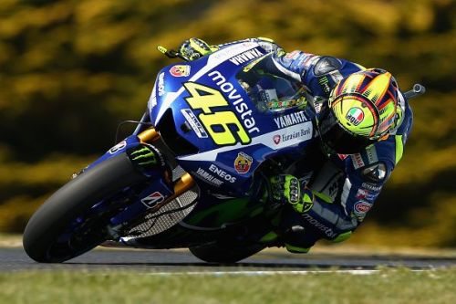 Rossi will probably go down as one of the greatest MotoGp drivers of all time
