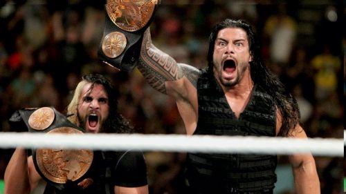 पूर्व WWE टैग टीम चैंपियंस रोमन रेंस और सैथ रॉलिंस