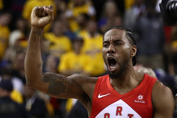Kawhi Leonard helped to lead the Toronto Raptors to a first championship in franchise history