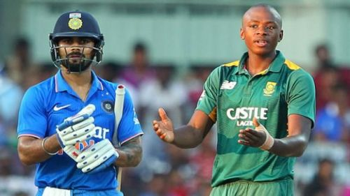Image result for virat and rabada