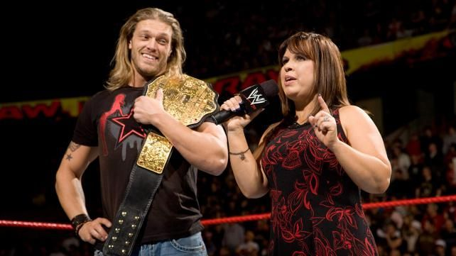 With Guerrero as SmackDown General Manager, Edge rose to the top, becoming World Heavyweight Champion in the process.