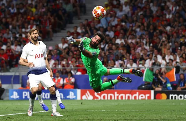 Becker makes another important save to give Liverpool the trophy.