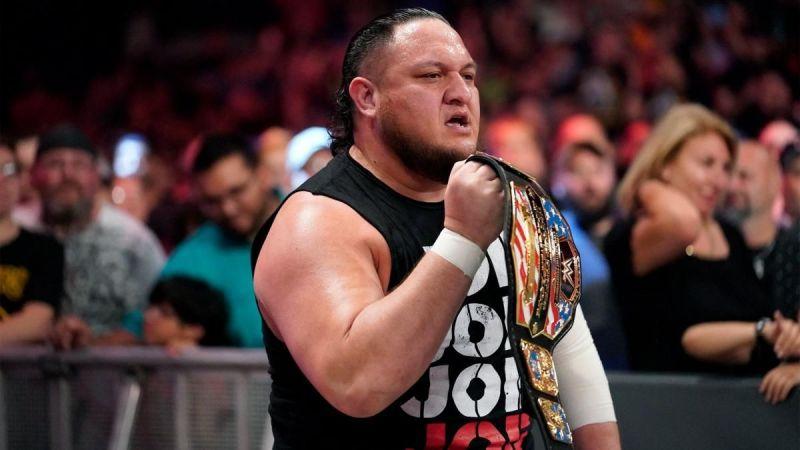 Samoa Joe is United States Champion once again