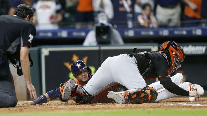 Astros vs. Orioles