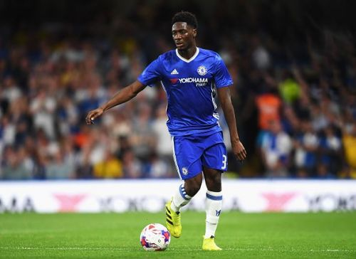 Ola Aina in action for Chelsea