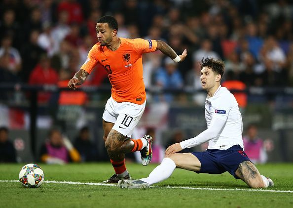 A massive error from John Stones led to the Netherlands