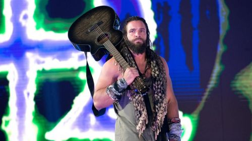 Elias may be playing a victory song on his way out of Super Showdown