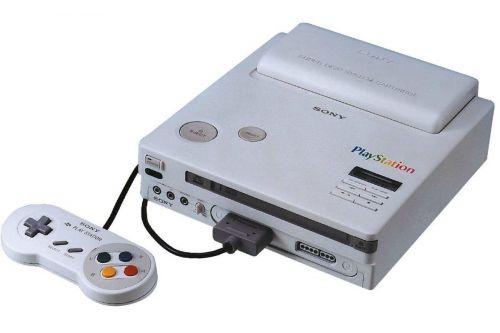 Sony and Nintendo's Play Station prototype