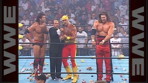 Hogan turns heel
