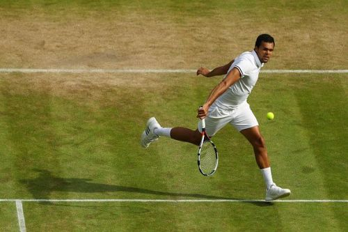 Jo-Wilfred Tsonga has played some of his best tennis at the All England Club
