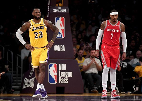 Will Carmelo Anthony link up with LeBron James in Los Angeles?