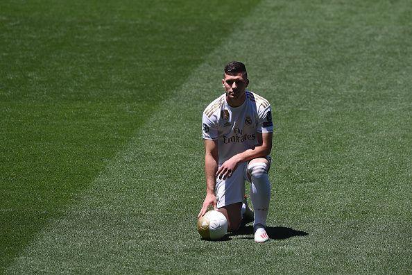 Real Madrid Unveil New Signing Luka Jovic