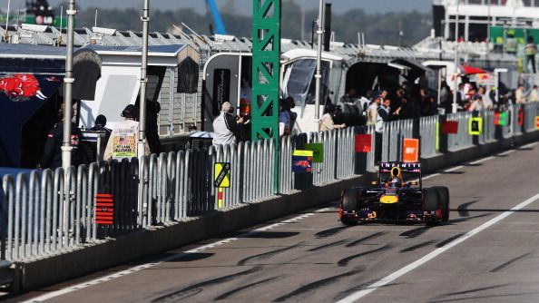 Red Bull made one of the fastest stops ever at the 2013 USGP