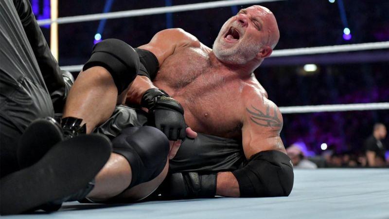 Goldberg lost against The Undertaker at WWE Super ShowDown