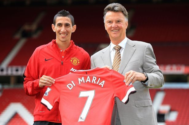 Angel di Maria played only one season for Man United