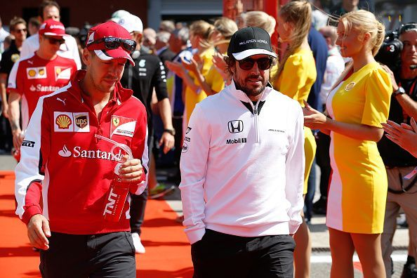 F for Formula 1 and F for Fernando Alonso!