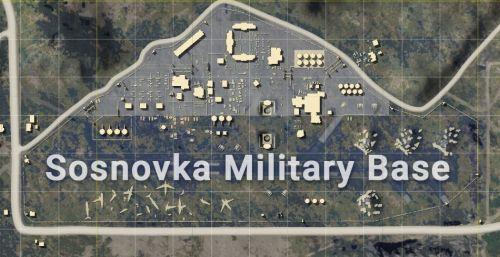 Base militaire d'Erangel