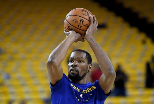 Kevin Durant has not played since Game 5 of the second-round against the Houston Rockets